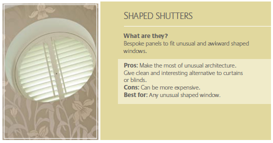 Special Shape Shutters