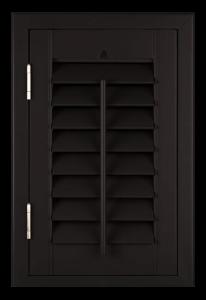 black shutter