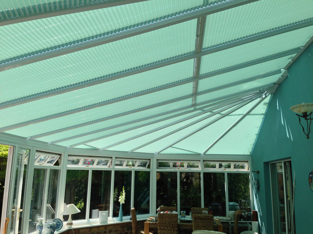 Pleated Conservatory Blinds Wynyard